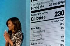 Bà Michelle Obama gây tranh cãi vì đề xuất dán nhãn thực phẩm