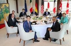 G7: Nhất trí về các biện pháp tài chính cho tăng trưởng toàn cầu