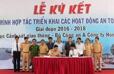 Honda, Bộ Công an ký kết chương trình phối hợp an toàn giao thông