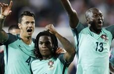 """Cận cảnh """"bàn thắng vàng"""" giúp Bồ Đào Nha lọt vào tứ kết"""