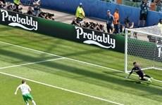 Cận cảnh bàn thắng sốc của Ireland vào lưới chủ nhà Pháp