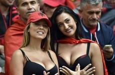 Ngắm nhìn những nữ cổ động viên Albania nóng bỏng nhất EURO 2016