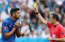 Tứ kết EURO 2016: Italy đối mặt nguy cơ bị treo giò cả đội hình