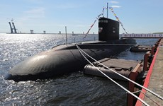 Tàu ngầm chạy bằng diesel mới nhất của Nga vào Biển Đen