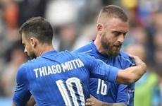 """Đội tuyển Italy tổn thất nặng trước trận """"sinh tử"""" với Đức"""