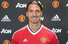 Zlatan Ibrahimovic chính thức cập bến Manchester United