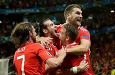 Xứ Wales vào bán kết sau màn ngược dòng trước đội tuyển Bỉ