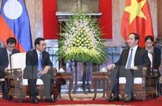 Thắt chặt quan hệ hữu nghị, đoàn kết đặc biệt Việt-Lào