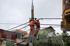 Khắc phục xong toàn bộ sự cố lưới điện trung áp sau bão số 1