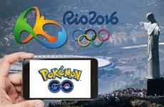 Trò chơi ảo Pokemon Go chính thức có mặt tại Olympic 2016