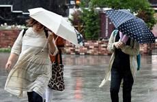 Nhật Bản: Bão mạnh tràn vào gần Tokyo, gây rối loạn giao thông