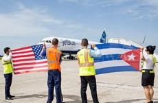 Chuyến bay thương mại đầu tiên từ Mỹ hạ cánh tại Cuba sau 55 năm