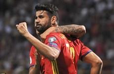 Vòng loại World Cup: Tây Ban Nha thắng 8-0, Kosovo gây sốc