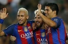 Cận cảnh M-S-N lập công, Barcelona thắng vùi dập Celtic 7-0