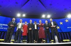 Các ứng cử viên Chủ tịch Ủy ban châu Âu tranh luận trực tiếp