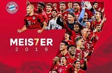 Nhìn lại 7 mùa giải liên tiếp vô địch Bundesliga của Bayern