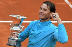 Cận cảnh Nadal thắng Djokovic set trắng, lên ngôi tại Rome Masters