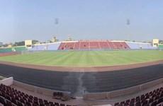 Chốt sân vận động tổ chức trận đấu U23 Việt Nam - U23 Myanmar
