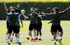 Arsenal bắt đầu 'luyện công' tại Baku, sẵn sàng đại chiến Chelsea