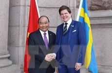 Thủ tướng Nguyễn Xuân Phúc gặp Chủ tịch Quốc hội Thụy Điển
