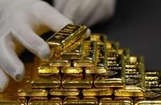 Giá vàng thế giới tăng lên mức cao nhất trong gần hai tuần