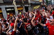 CĐV Liverpool hâm nóng trận chung kết Champions League
