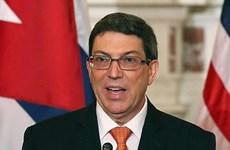 Cuba chỉ trích lệnh cấm vận của Mỹ chống lại luật pháp quốc tế
