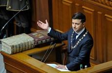 Tổng thống Ukraine Zelenskiy khẳng định sẵn sàng đàm phán với Nga