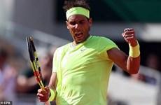 Đánh bại Federer, Nadal lần thứ 12 vào chung kết Roland Garros