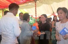 Ấm áp tình đoàn kết giữa các địa phương của Việt Nam và Campuchia
