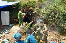 Đã tìm thấy thi thể nạn nhân mắc kẹt trong hang đá tại Lào Cai