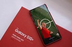 Hình ảnh chiếc Samsung Galaxy S10+ phiên bản Park Hang-seo