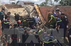 Sập giàn giáo xây dựng tại tỉnh Gia Lai, chủ thầu thiệt mạng