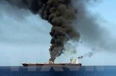 Sự cố tàu tại Vịnh Oman: Liên minh châu Âu kêu gọi kiềm chế tối đa