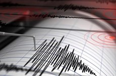 Động đất mạnh 6,1 độ đã xảy ra ở khu vực Đông Bắc Ohonua của Tonga