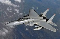 Saudi Arabia, Mỹ tiến hành diễn tập không quân trên Vịnh Arab