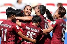 World Cup nữ 2019: Thái Lan lại thảm bại, Nhật Bản vào vòng 1/8