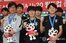 Người dân Hàn Quốc nồng nhiệt chào đón đội tuyển U20 trở về