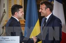 Pháp hy vọng thúc đẩy đàm phán giải quyết xung đột ở miền Đông Ukraine