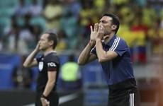 HLV Scaloni tin tưởng cơ hội đi tiếp của đội tuyển Argentina
