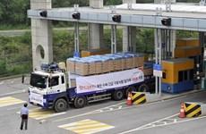 Hàn Quốc lần đầu viện trợ lương thực cho Triều Tiên kể từ năm 2010