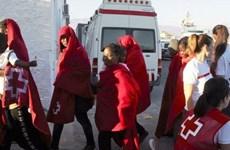 Chìm thuyền trên biển Địa Trung Hải, ít nhất 20 người mất tích