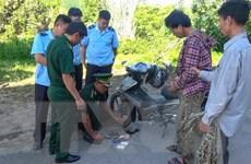 Điện Biên: Bắt giữ đối tượng giấu ma túy trong lọc gió xe máy