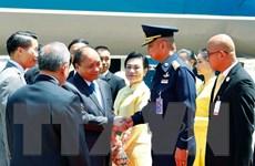 Thủ tướng bắt đầu các hoạt động tham dự Hội nghị Cấp cao ASEAN