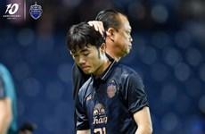 Tiền vệ Lương Xuân Trường chia tay CLB Buriram United