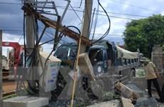 Đắk Lắk: Xe tải gây tai nạn nghiêm trọng, hai người thương vong