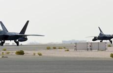 Bộ Quốc phòng Mỹ điều máy bay tiêm kích F-22 tới vùng Vịnh