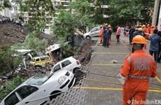 Ít nhất 14 người đã thiệt mạng trong vụ sập tường ở Ấn Độ