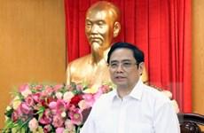 Đoàn Tiểu ban Văn kiện Đại hội XIII khảo sát và làm việc tại Hà Tĩnh