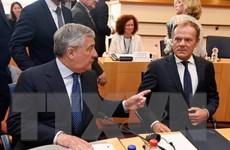 Hội nghị thượng đỉnh EU dừng giữa chừng do bất đồng ý kiến